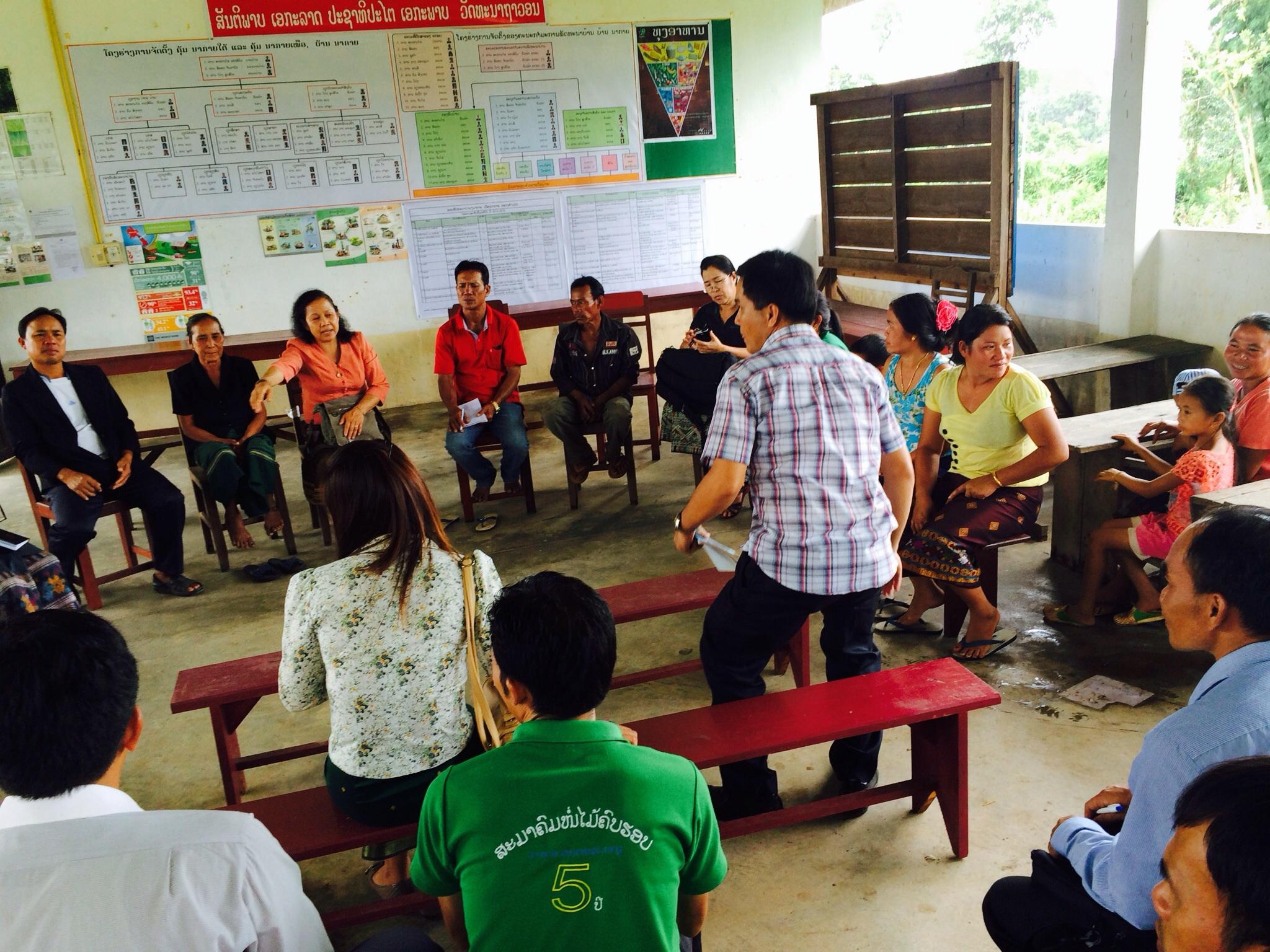 Village stakeholders meeting