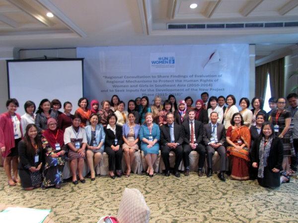 UN Women Jakarta conference delegates