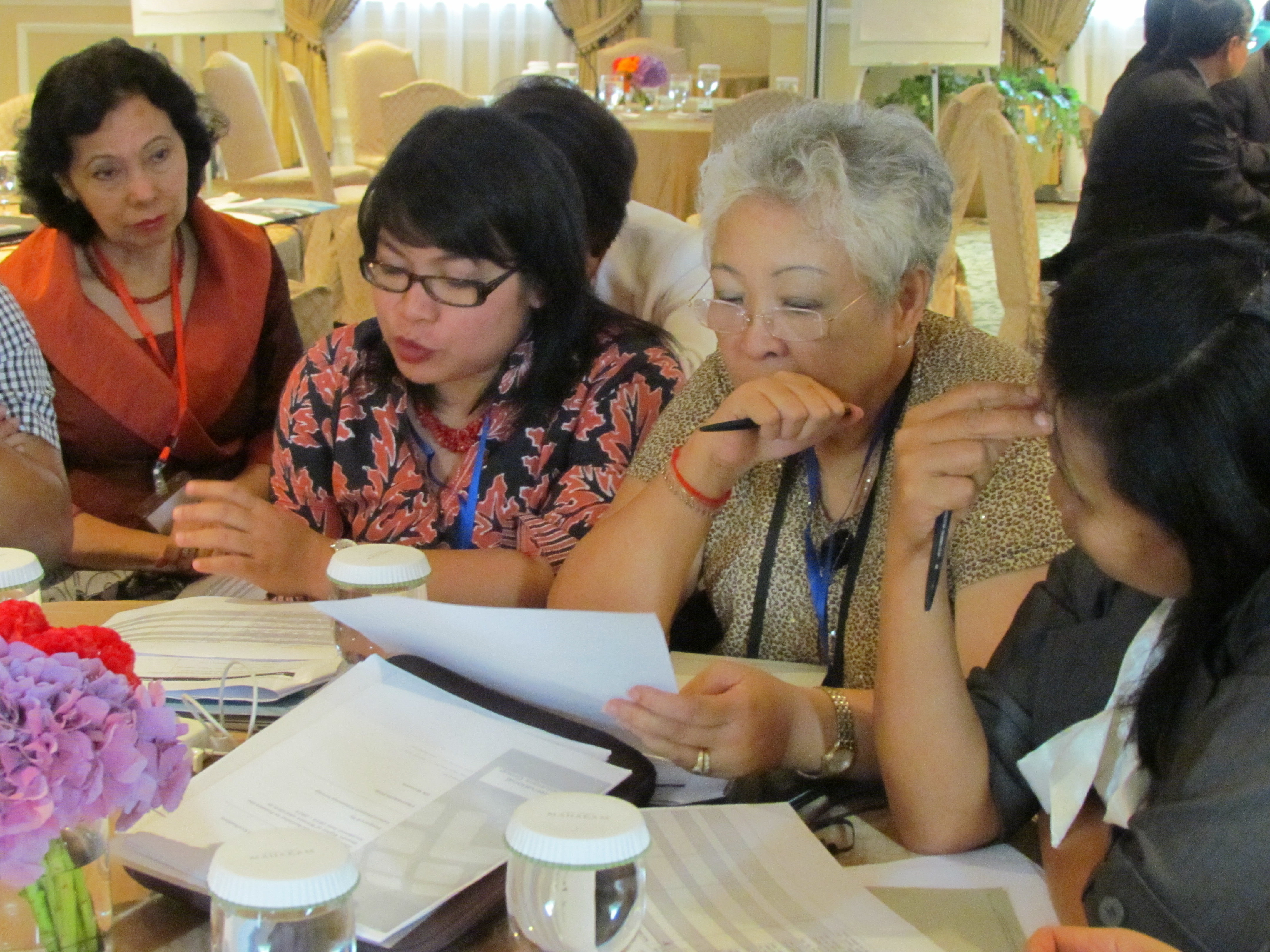 Civil society group discussion