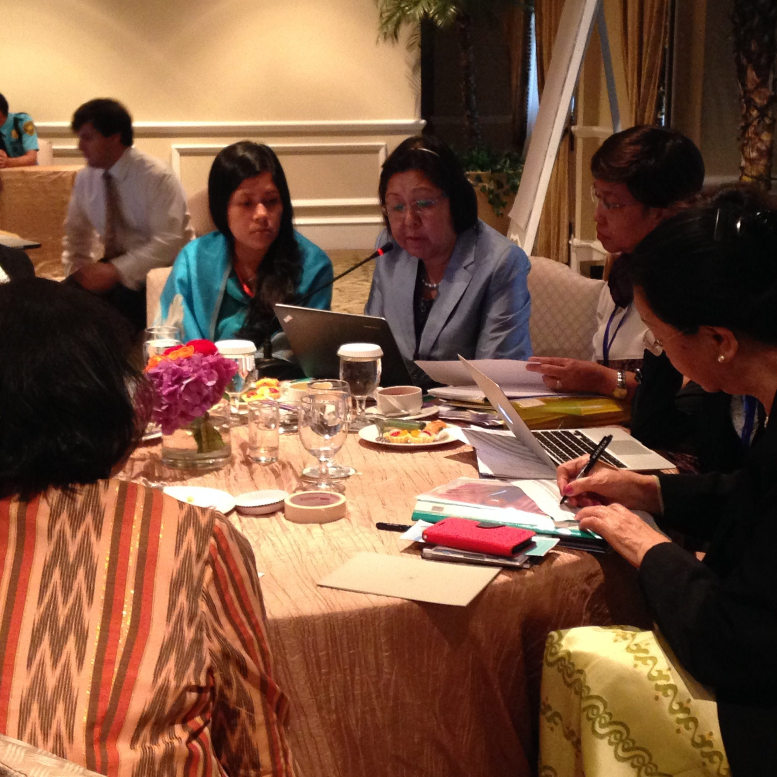 ACWC discussion group (Asian Commission for Women and Children) working group
